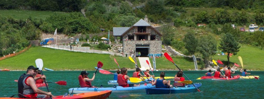 Actividades acuáticas Pirineo Verano 2017